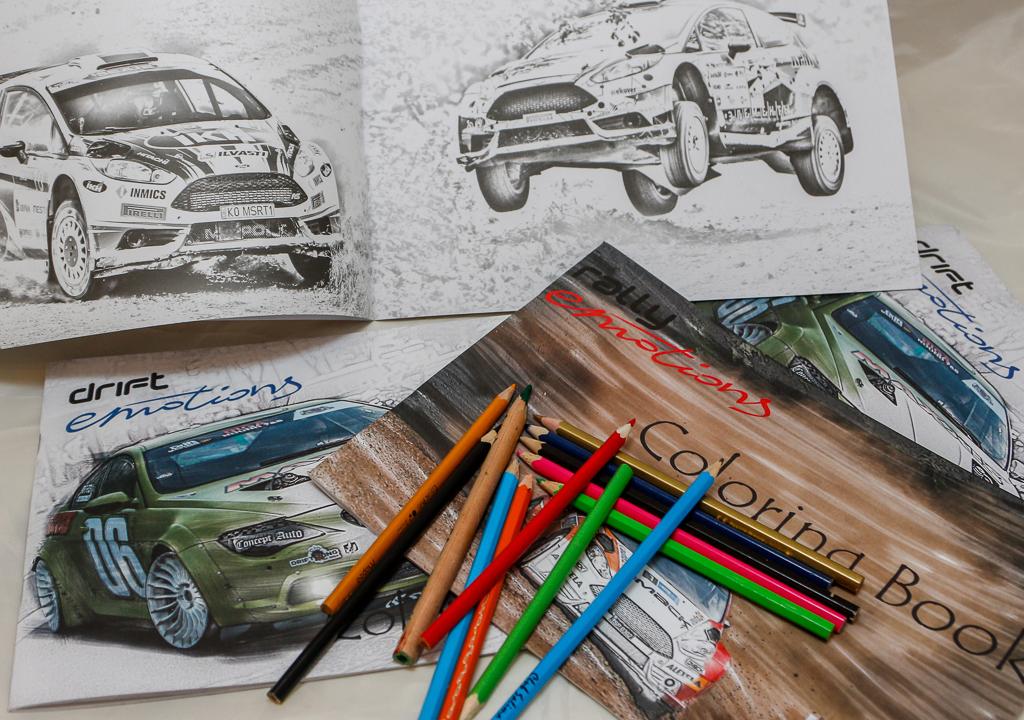 Krāsojamās grāmatas autosporta faniem