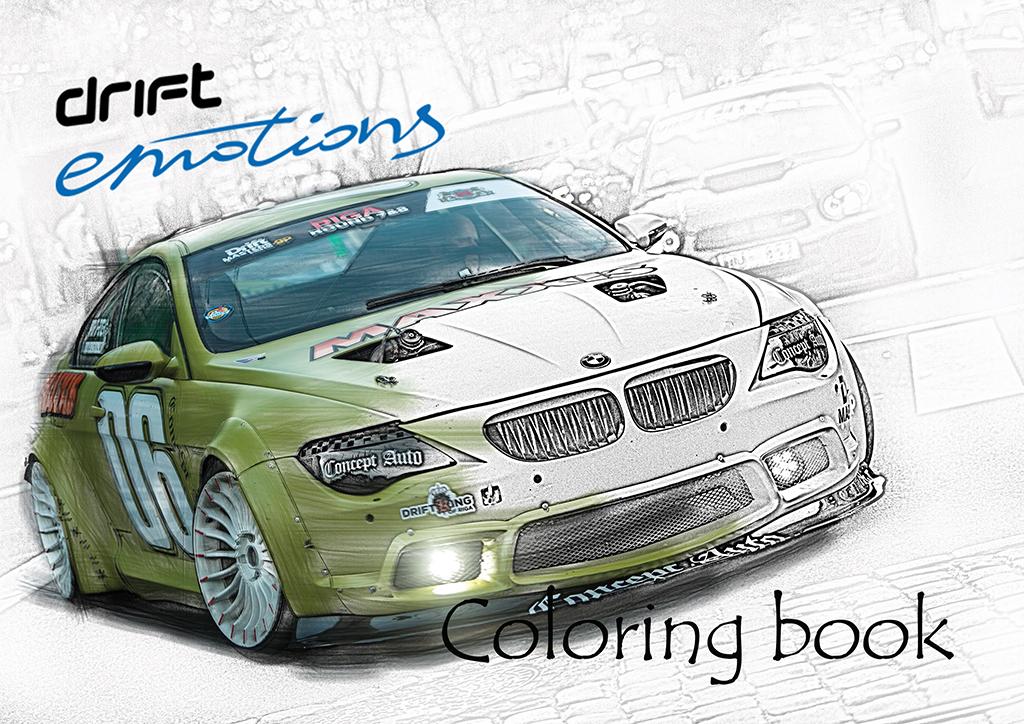 Krāsojamā grāmatiņa DriftEmotions
